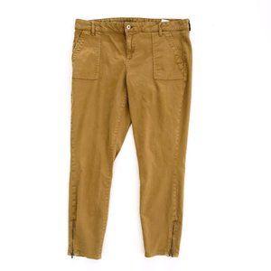 TOMMY HILFIGER Women's Brown Skinny Jeans 14